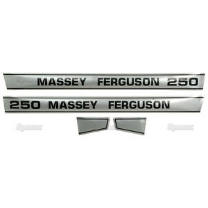 New Massey Ferguson Decal Set Mf250 S41189