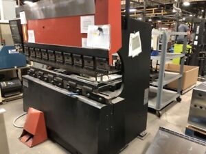 Amada Press Brake Fbd 5020e Nc9 Exii Cnc Controller 50 Tons X 6 Ft 82 Inch 1990
