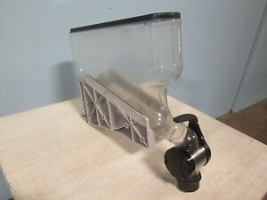H d Commercial Acrylic Coffee Bean candy grain Gravity Fed Display Dispenser