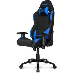 Akracing Core Series Ex Fabric Gaming Chair With High Wide Backrest Blue black