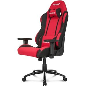 Akracing Core Series Ex wide Fabric Gaming Chair With Wide Seat Red black