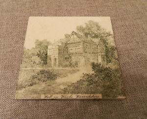 Antique English Minton Tile Works Hall In Woods Warwickshire Stoke On Trent