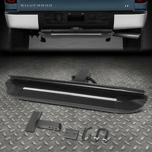 For 2 receiver Aluminum 27 X 4 Trailer Tow towing Hitch Step Bar Bumper Guard