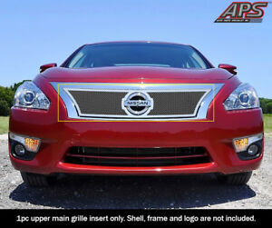 Aps For 2013 2015 Nissan Altima Upper Stainless Steel Mesh Grille