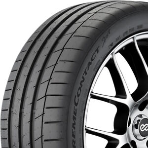 2 New 215 45 17 Continental Extremecontact Sport Tires 215 45 17