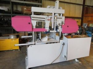 Horizontal Automatic Dual Column Band Saw 12 Round 19 6 X 11 8 Rect 2004 Used