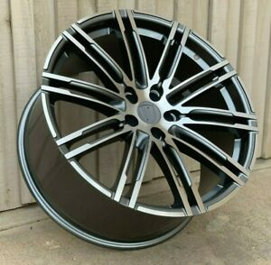 21 Wheels Fits Porsche Macan S Turbo Sport Rims Set Of Four 21x9 21x10 5x112