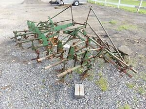 John Deere Tractor 4 Row Cultivators Was On Jd B Or A