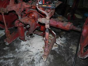 International 230 Tractor Fast Hitch Complete