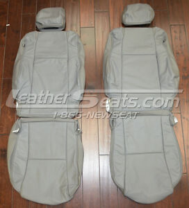 2009 2011 Toyota Tacoma Leather Upholstery Seat Covers 09 10 10