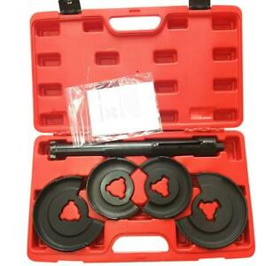 5 Spring Compressor Set For Mercedes Benz W124 W116 Telescopic Repair Tool Kit