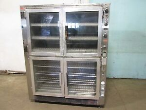 super System Hd Commercial 120 208v 3ph Electric 2 In 1 Proofing baking Oven