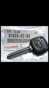 Genuine Oem Toyota New Original Uncut Blank Key 90999 00185