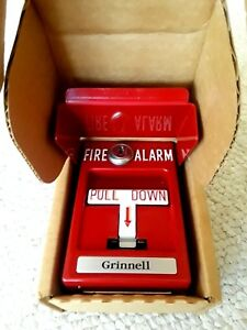 Simplex Grinnell Manual Station Pull Down Station Fire Alarm Box Key