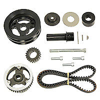Kse Racing Products Ksd1026 Belt Drive Kit Sbc Gm 604 For Crate Head Mount