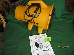 New Pelsue 120 Vac 60hz 1 3 Hp Axial Ventilatorfit s 8 Blower Duct 1325p