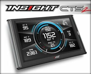 Edge Products Insight Cts2 Performance Monitor Gm 6 6l Diesel 84130 gm1