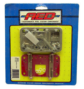 Aed Holley Carb Metering Block Conversion Kit 3310 750 Cfm Carburetor