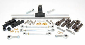 Ford 351c Cleveland Aed Pro Tunnel Ram 2x4 Carburetor Linkage Kit