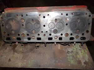Farmall Wd6 Diesel Tractor Engine Head no Visisble Cracks 1 Chunk Missing 8228df