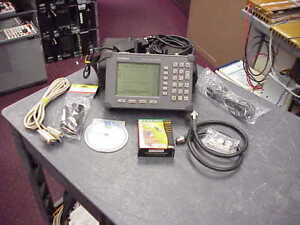 Anritsu Site Master S332b Cable Antenna Spectrum Analyzer W Option 5