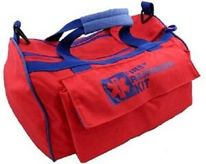 New Fully Stocked First Aid Kit Responder Bag W Straps