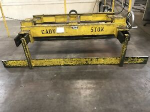 Cady Lifters Crane Style Sheet Metal Grab Lifter 5ton Capacity