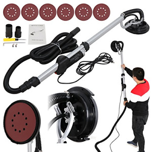 Drywall Sander 750 Watts Commercial Electric Variable Speed W 6 Round New