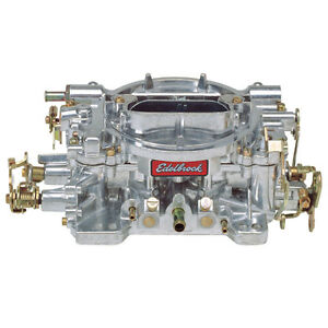Edelbrock 1405 Carburetor 600 Cfm Performer Series Manual Choke