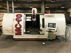 2001 Fryer Mc 60 Cnc Vertical Machining Center Vertical Mill
