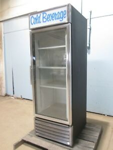 true Hd Commercial Lighted Refrigerated Cold Beverage Merchandiser Display