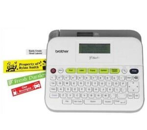 New Brother Pt d400 Label Maker With Ac Adapter