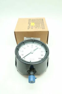 Ashcroft 45 1279 as 04l 100 Duragauge Pressure Gauge 1 2in Npt 0 100psi