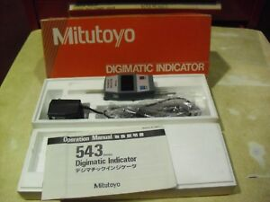 Mitutoyo 0001 4 Digimatic Indicator Model 543 421a id 110me Made In Japan