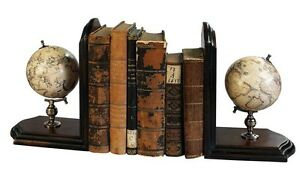 Replica Of Antique Mercator 1541 Globe Classic Wooden Stand