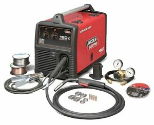 Portable Mig Welder Power Mig 180c Series 208 240vac Lincoln Electric K2473 2