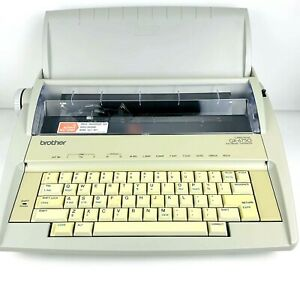 Brother Gx 6750 Correctronic Electronic Typewriter Excellent Condition W Cover