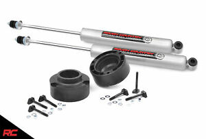Rough Country 2 Leveling Kit Fits 1994 2013 4wd Dodge Ram 2500 N3 Shocks