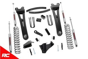 Rough Country 6 Lift Kit Fits 2005 2007 Ford Super Duty F250 F350 4wd Radius