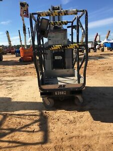 2007 Jlg 30am Man Lift 30 Deck 36 Work Hgt 12v Push Around Style 4 Outriggers