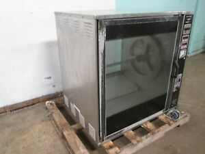 henny Penny Scr 8 Heavy Duty Commercial 208v 3ph Electric Rotisserie Oven
