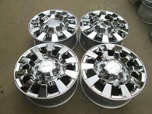 20 Gmc Sierra Chevy Denali 2500 Hd 3500 Hd Oem Factory Chrome Wheels Rims