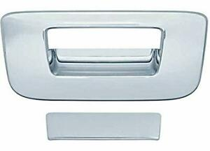 Chrome Tail Gate Handle Covers For A 2007 2013 Silverado Sierra Without Keyhole
