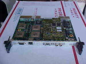 Blue Wave Systems Compact Pci Cpci c6400 4 16s sbs Network Gold Board Loc 367