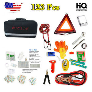 Portable Small First Aid Kit For Emergency Safety Travel Sports Home Office Car