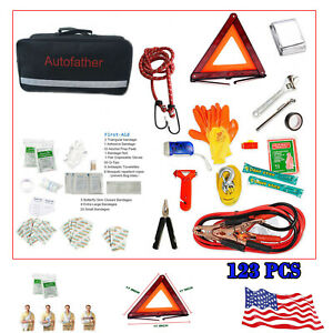 Portable First Aid Kit For Travel Car Home Emergency Camping Businesses Premum