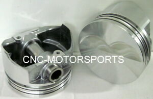 Kb134 030 Keith Black Flat Top Pistons Sb Chevy 4 030 Bore 3 75 Stroke 5 7 Rod