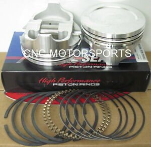 Ic954ktd 040 Icon Forged Dome Pistons Bb Ford 4 400 Bore 4 300 Stroke 6 800 Rod