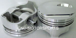 Ic787 std Icon Forged Dome Pistons Bb Chevy 4 250 Bore 4 250 Stroke 6 385 Rod