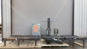 Orion Fa33 Automated Pallet Stretch Wrapper With Conveyors